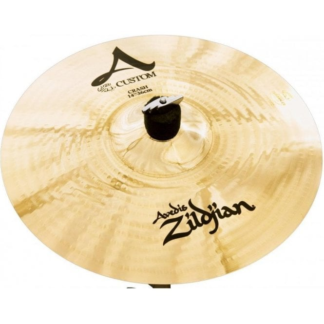 "Zildjian A Custom 14"" Crash Cymbal"