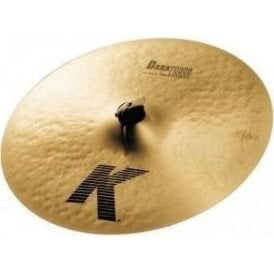 "Zildjian K 15"" Thin Dark Crash Cymbal"