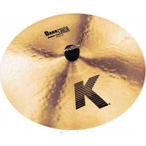 "Zildjian K 16"" Medium Thin Dark Crash Cymbal"