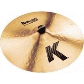"Zildjian K 18"" Thin Dark Crash Cymbal"