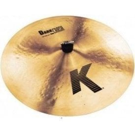 "Zildjian K 19"" Thin Dark Crash Cymbal"