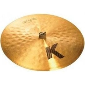 "Zildjian K 20"" Light Flat Ride Cymbal"