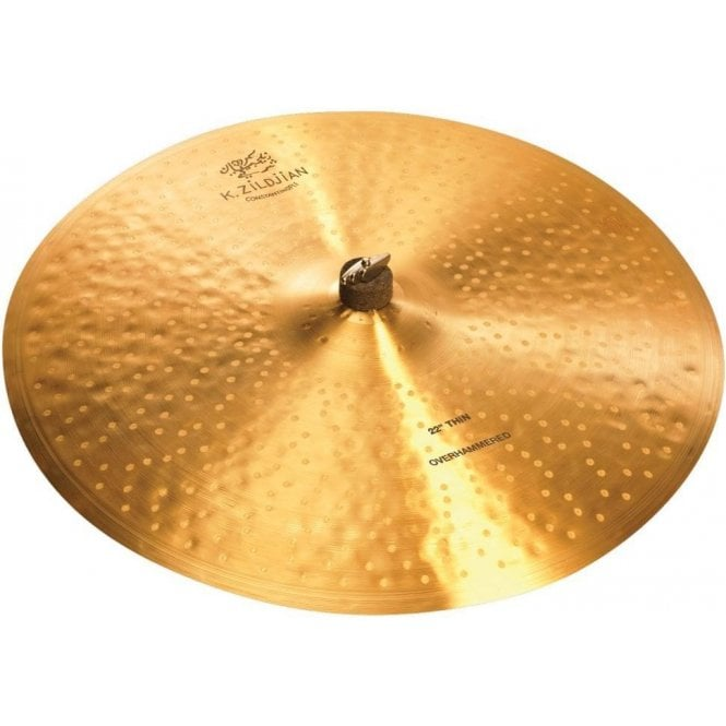 """Zildjian K Constantinople 22"""" Thin Ride Over Hammered Ride Cymbal"""