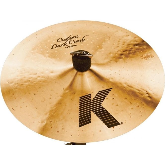 "Zildjian K Custom 14"" Dark Crash Cymbal"