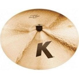 "Zildjian K Custom 20"" Dark Ride Cymbal"