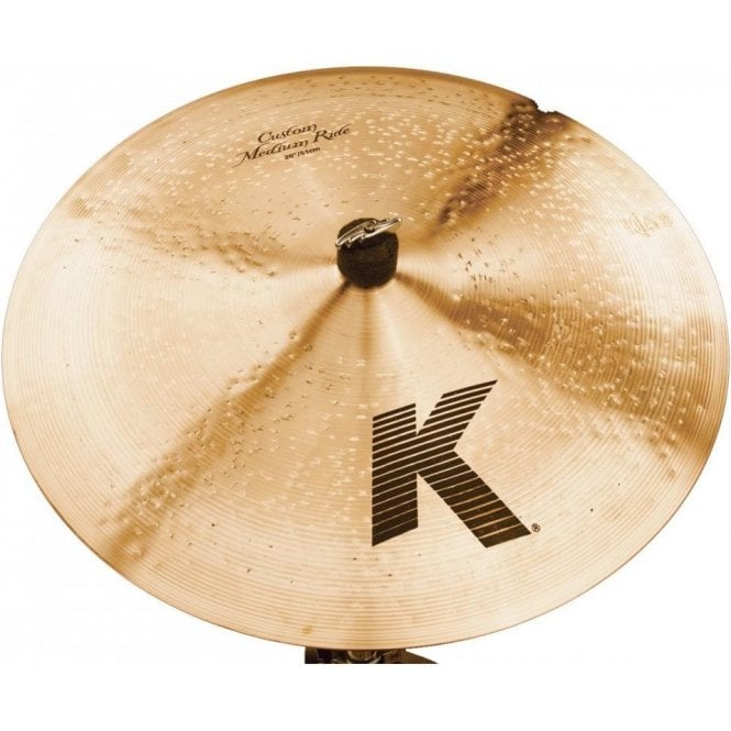 "Zildjian K Custom 20"" Medium Ride Cymbal"