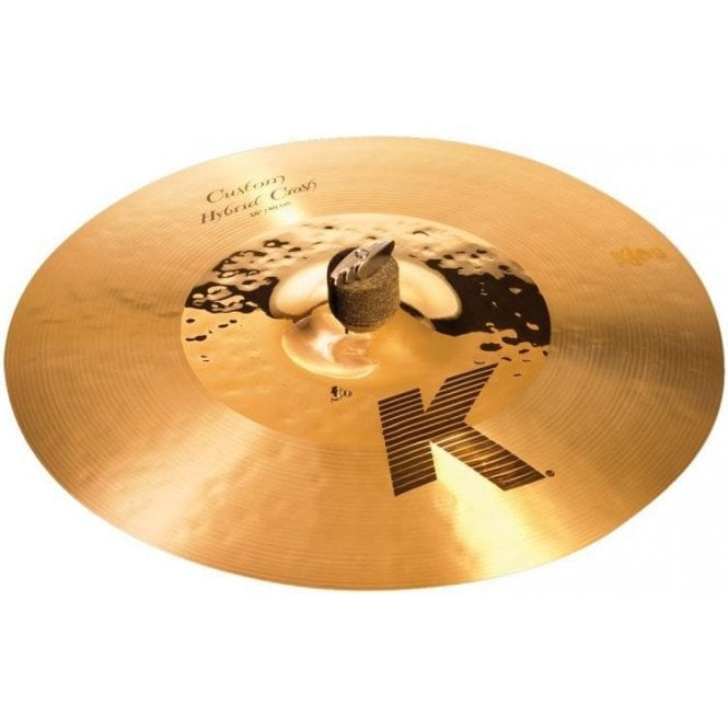 "Zildjian K Custom Hybrid 16"" Crash Cymbal"