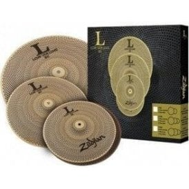 Zildjian L80 Low Volume Cymbal Set - 13/14/18 LV348 | Buy at Footesmusic