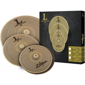 Zildjian L80 Low Volume Cymbal Set - 14/16/18